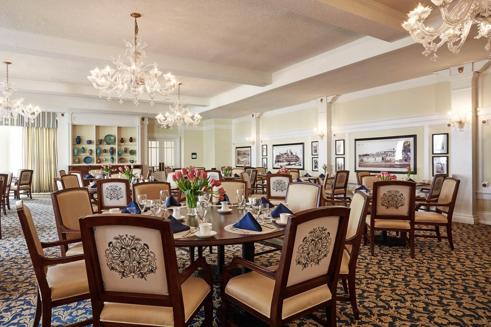 Carolina Dining Room Pinehurst Resort Glav Holmes Architecture