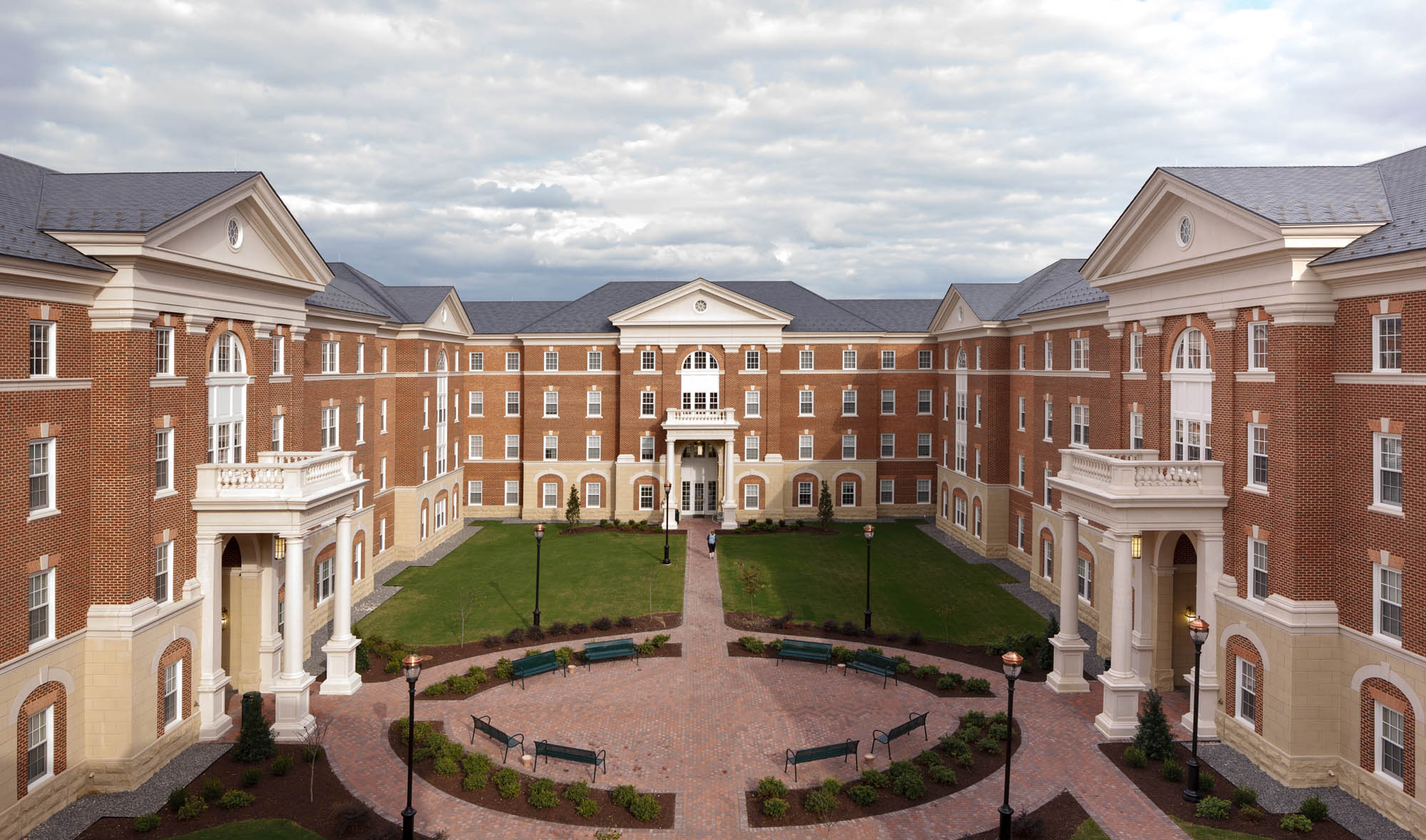 Rappahannock River Residence Hall Glavé Holmes Architecture