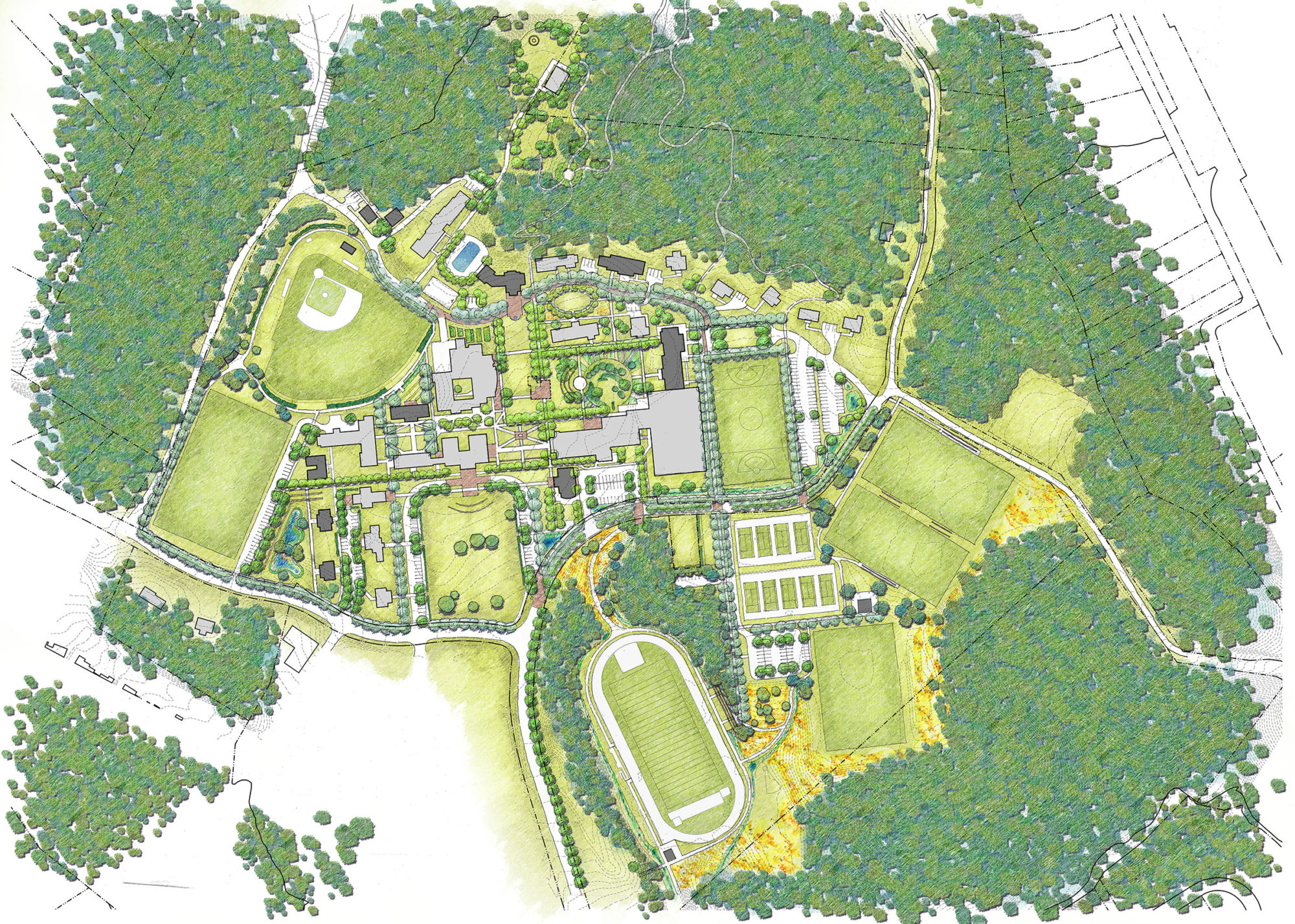 Virginia Episcopal Campus Master Plan Glave Holmes Architecture